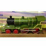 Locomotiva cu aburi - verde