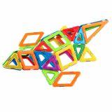 Joc Magnetic Educativ de Constructie 3D - 64 piese