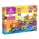 Joc Magnetic Educativ de Constructie 3D - 97 piese