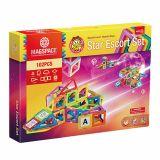 Joc Magnetic Educativ de Constructie 3D - 102 piese