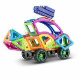 Joc Magnetic Educativ de Constructie 3D - 105 piese