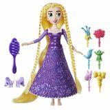 Papusa Rapunzel cu accesorii de par, Tangled