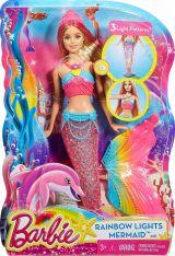 Papusa Barbie Sirena curcubeu
