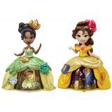 Mini papusi Disney cu rochii magice