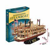 PUZZLE 3D - CBF5 - Mississippi Steamboat