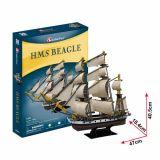 PUZZLE 3D - CBF5 - HMS Beagle