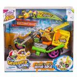Figurine Grossery gang - Motocicleta livrari