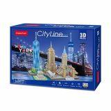 PUZZLE 3D - CBF4 - CITY LINE  NEW YORK CITY