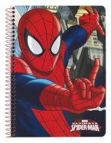 A5 Caiet 80 file Spiderman 22x15.5x0