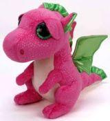Beanie Boos DARLA - pink dragon med