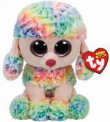 Beanie Boos RAINBOW - multicolor poodle