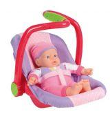 Bebelus in scaun auto