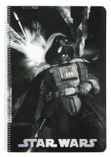 Caiet 80 file Star Wars Vader 31x21.5x0