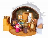 Casuta de iarna a ursului, include figurinele Masha + Ursul