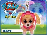Jucarie de plus TY breloc Paw Patrol Skye 8,5 cm