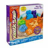 Kinetic Sand, nisip 340g Catel/dinozaur