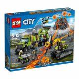 LEGO CITY Baza de explorare a vulcanului 60124