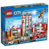 LEGO CITY Remiza de pompieri 60110