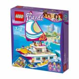 LEGO FRIENDS Croaziera insorita  pe Catamaran 41317