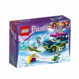 LEGO FRIENDS Masina de teren a statiunii de iarna 41321