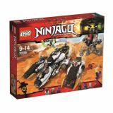 LEGO NINJAGO Avion invizibil pentru incursiuni 70595