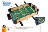 Masa de fotbal din lemn 50 cm