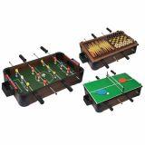 Masa din lemn 5-in-1 (Fotbal  plus PingPong  plus Sah  plus Dame  plus Table)