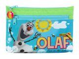 Penar mare 2 fermoare Frozen Olaf 34x26x12