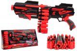Pistol 50 cm cu centura 40 gloante din spuma