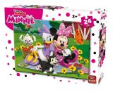 Puzzle 24 piese modele asortate Minnie Polka