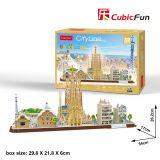 PUZZLE 3D - CBF4 - CITY LINE BARCELONA
