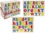 Puzzle lemn - invat alfabetul