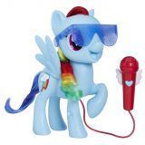 Rainbow Dash cu microfon, My Little Pony