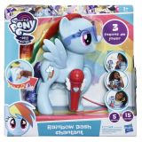 Rainbow Dash cu microfon, My Little Pony