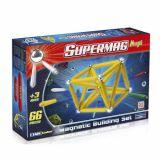 Set de construit magnetic Supermaxi One - 66 piese