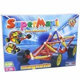 Set de construit Supermaxi Race Car - 76 piese