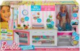 Set de joaca bucatarie si papusa Barbie