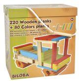 Set joaca lemn 300 piese