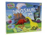 Set plastilina cu dinozauri