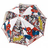 Umbrela manuala cupola 42 cm/8 f 64 cm Spiderman