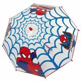 Umbrela manuala transp 42 cm/8 f 64 cm Spiderman