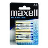Baterie alcalina LR6/AA 4/blister Maxell