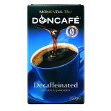 Cafea macinata decofeinizata 250g Doncafe