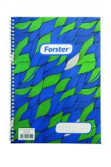 Caiet A4 spirala 100 file Forster