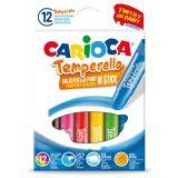 Creion-tempera Temperello Carioca 12/set