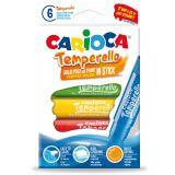 Creion-tempera Temperello Carioca 6/set