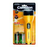 Lanternã 6 LED include 2xR20 Camelion