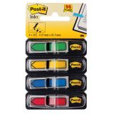 PageMarker 12x43mm 4 culori/set 96 file sageti Post-it