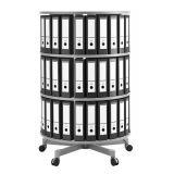 Suport rotativ cu 3 niveluri pentru arhivare Moll Depotfile