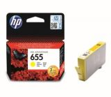 Reumplere cartus HP 655 Yellow CZ112AE